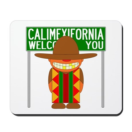 Illegal Alien Invasion Mousepad