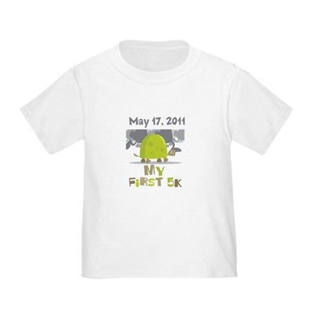 Personalized My First 5K Toddler T-Shirt