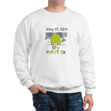 Personalized My First 5K Sweatshirt