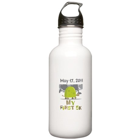 Personalized My First 5K Stainless Water Bottle 1.