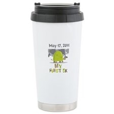 Personalized My First 5K Travel Mug