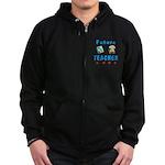 Future Teacher Zip Hoodie (dark)