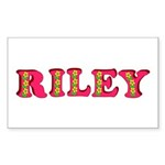Riley Sticker (Rectangle 50 pk)