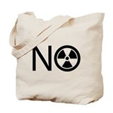 No to Radiation and Nuclear P Tote Bag