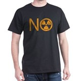 No to Radiation and Nuclear P T-Shirt