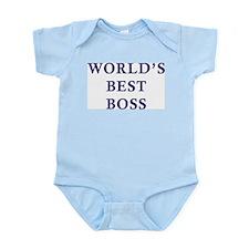 World's Best Boss Infant Bodysuit