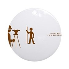 Surveyor Ornament (Round)