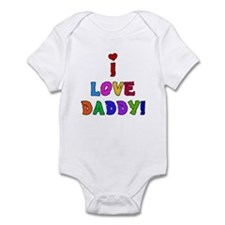 I Love Daddy Infant Creeper