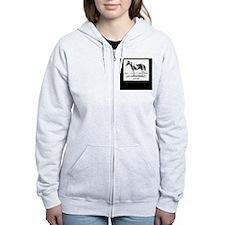 Paint Horse Zip Hoodie