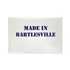 Made in Bartlesville Rectangle Magnet