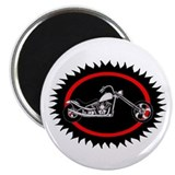 "CHOPPER SUNSET 2.25"" Magnet (100 pack)"