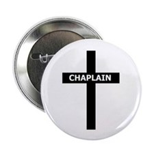 "Chaplain/Cross/Inlay 2.25"" Button (10 pack)"