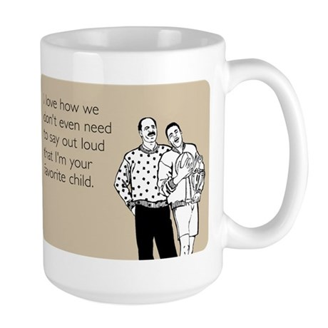 Favorite Child Large Mug