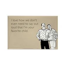 Favorite Child Rectangle Magnet