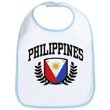 Philippines Flag Bib