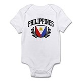 Philippines Flag Infant Bodysuit