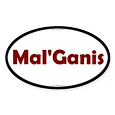 Mal'Ganis Red Server Oval Decal