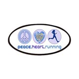 PEACE HEART RUNNING Patches