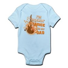 I'm Rockin' Orange for my Dad Infant Bodysuit