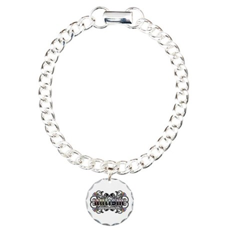 Autism Awareness Charm Bracelet, One Charm