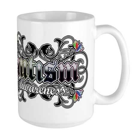 Autism Awareness Large Mug