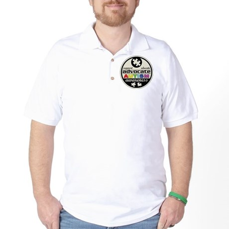 Advocate Autism Awareness Golf Shirt