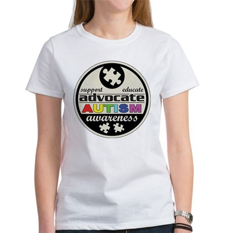 Advocate Autism Awareness Women's T-Shirt