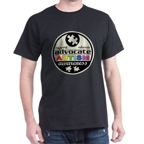 Advocate Autism Awareness Dark T-Shirt