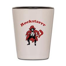 Rockstarrr Shot Glass