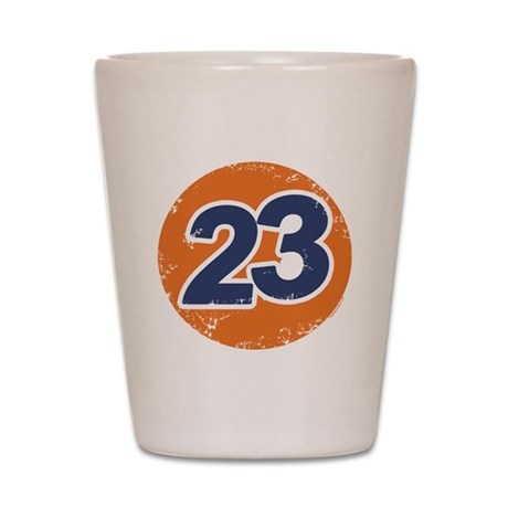23 Logo Shot Glass
