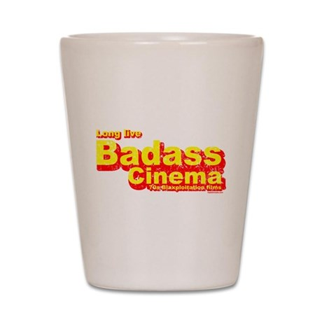 Badass Cinema Shot Glass