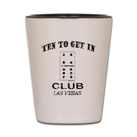Club 10 Shot Glass