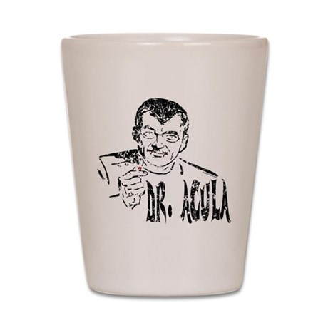 Dr Acula Shot Glass