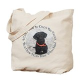 Black Labrador Retriever Big Tote Bag