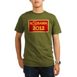 NoBama 2012 Commie Logo T-Shirt