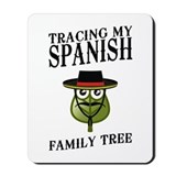 Tracing My Spanish Family Tree Mousepad