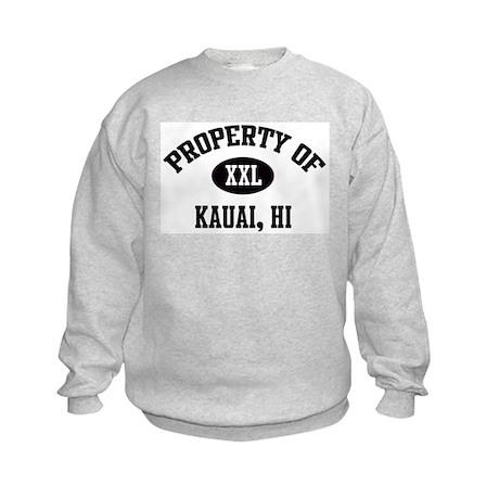 Property of Kauai Kids Sweatshirt
