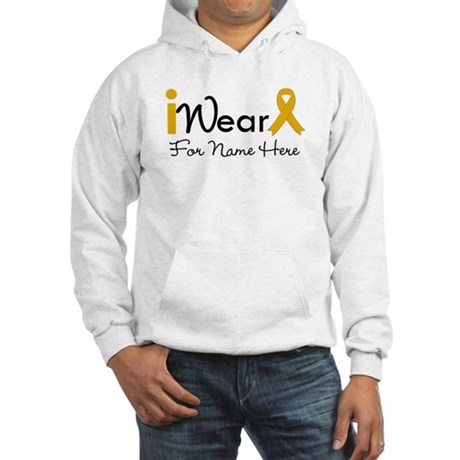 Personalize Appendix Cancer Hooded Sweatshirt