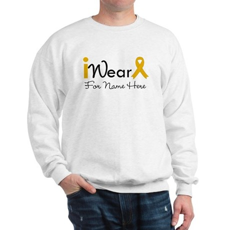 Personalize Appendix Cancer Sweatshirt