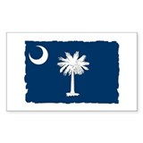 South Carolina Flag - Palmetto State Decal