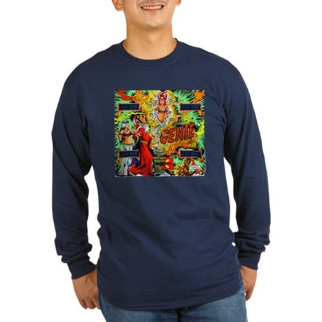 Gottlieb&reg; &quot;Genie&quot; Long Sleeve Dark T-Shirt