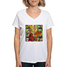 "Gottlieb® ""Genie"" Women's V-Neck T-Shirt"