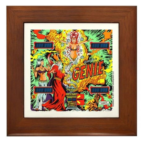 Gottlieb&reg; &quot;Genie&quot; Framed Tile