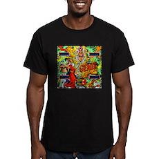 """Gottlieb® """"Genie"""" Men's Fitted T-Shirt (dark)"""