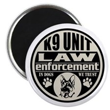 In Dogs We Trust K9 Unit Magnet