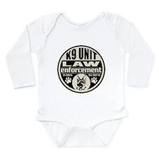 In Dogs We Trust K9 Unit Long Sleeve Infant Bodysu