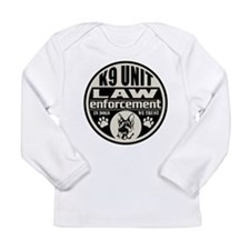 In Dogs We Trust K9 Unit Long Sleeve Infant T-Shir