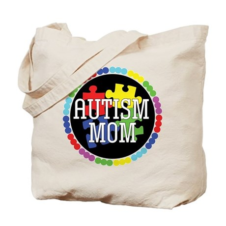 Autism Mom Tote Bag