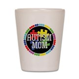 Autism Mom Shot Glass
