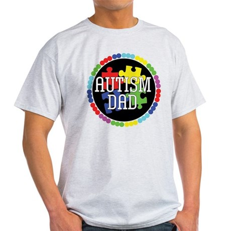 Autism Dad Light T-Shirt